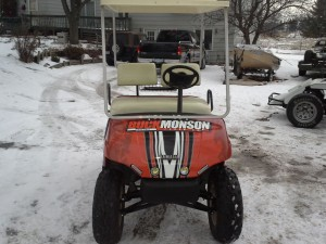 haslip golf cart front